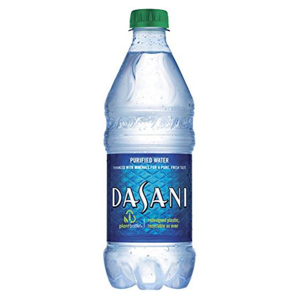 Dasani Water 20 oz