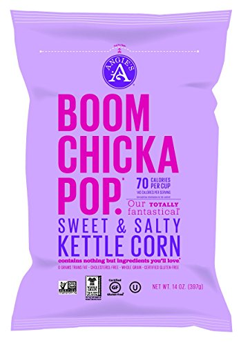 Boom Chicka Pop – Organic Sweet & Salty Kettle Corn