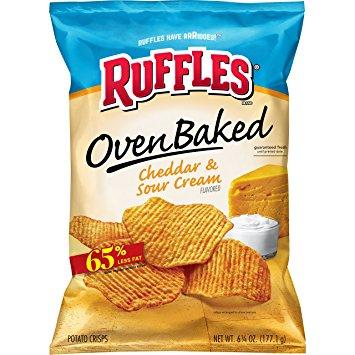 Lays Baked Ruffles Cheddar & Sour Cream