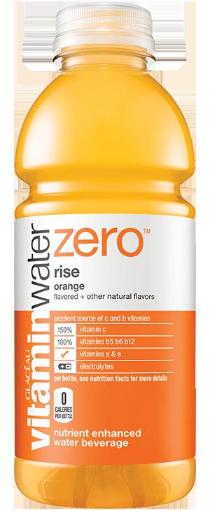 Vitamin Water Zero Orange Rise