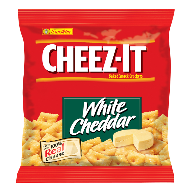 Crackers: Cheez-It Cheddar 1.5 OZ (42g)