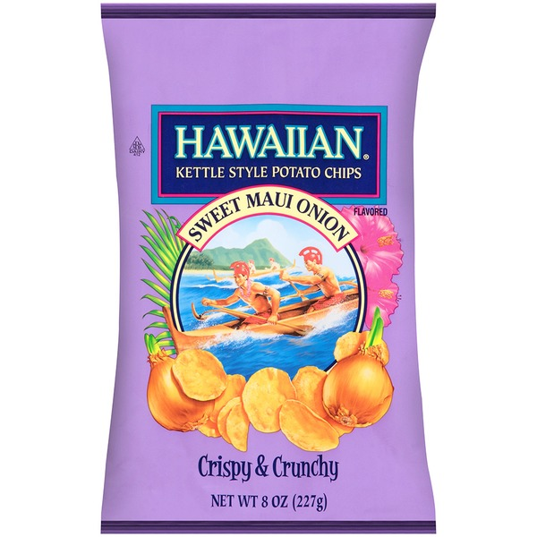 Hawaiian Kettle Style Potato Chips – Sweet Maui Onion