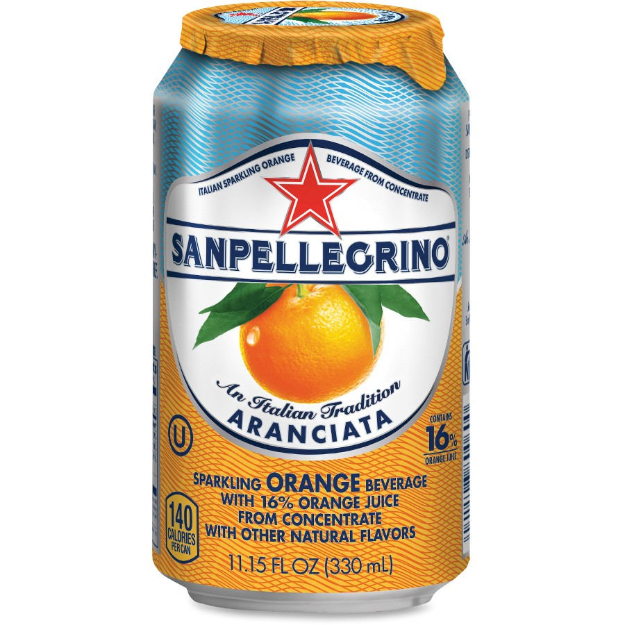 San Pellegrino All Natural Sparkling Orange