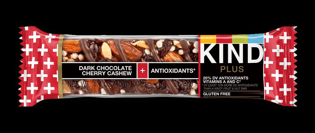 KIND BAR Dark Chocolate Cherry Cashew + Antioxidants