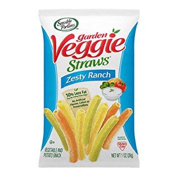 Sensible Portions Veggie Straws-Zesty Ranch
