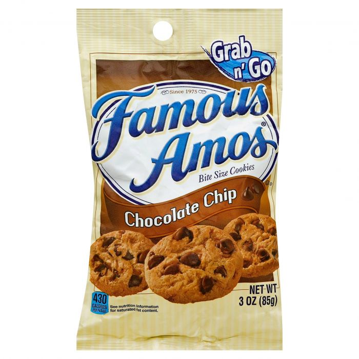 Snack: Famous Amos Chocolate Chip Cookie